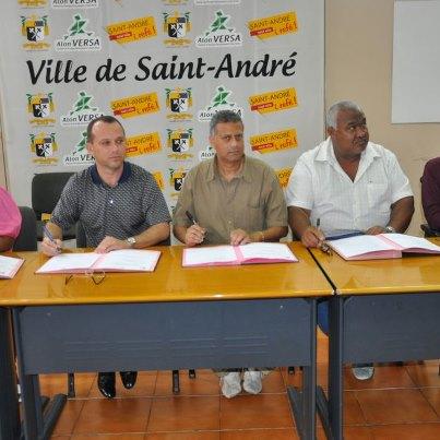 Ef et les représentants syndicaux de SA